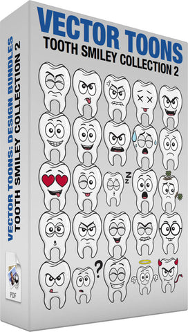 Tooth Smiley Collection 2