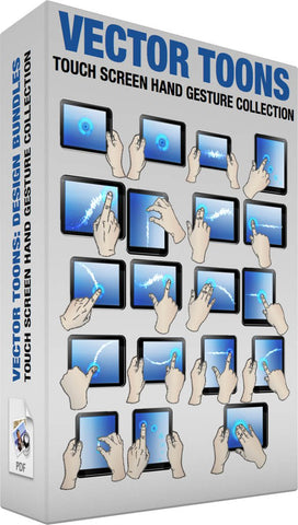 Touch Screen Hand Gesture Collection