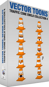 Traffic Cone Emoji Collection 4