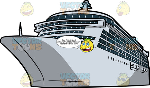 A Cruise Liner Ship