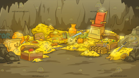Treasure Cave Background