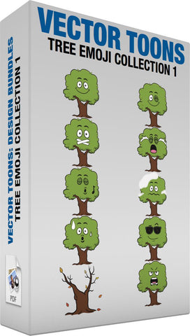 Tree Emoji Collection 1