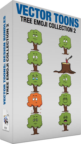 Tree Emoji Collection 2