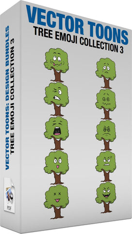 Tree Emoji Collection 3