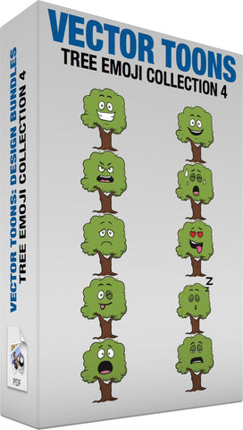 Tree Emoji Collection 4