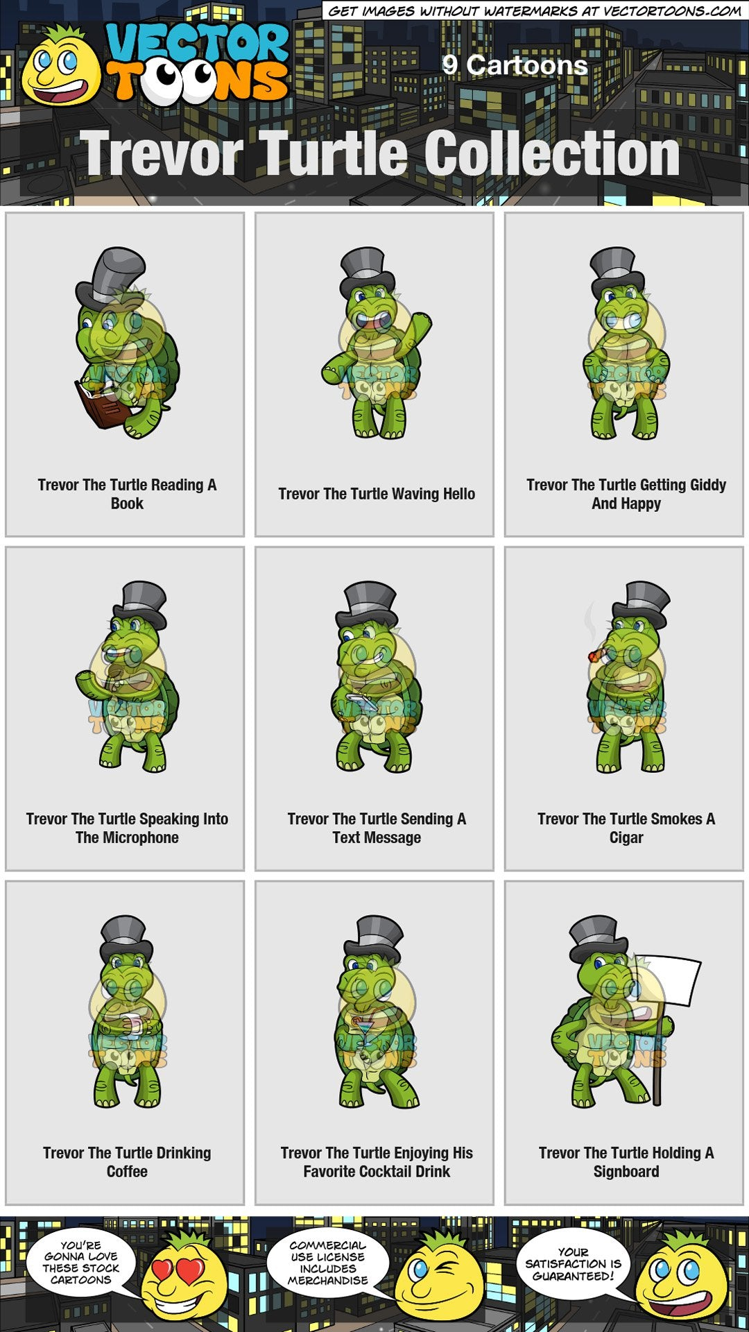 Trevor Turtle Collection
