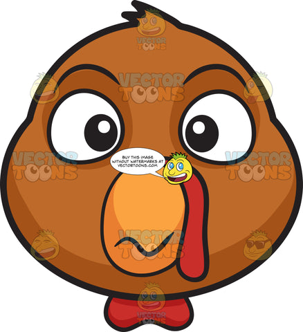 A Dumbfounded Turkey