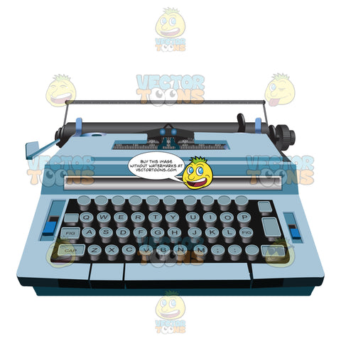 More Modern Looking Typewriter