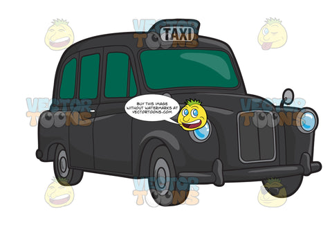 A British Taxi