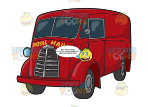 A Royal Mail Vehicle