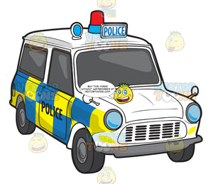 A Uk Police Vehicle