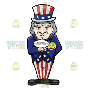 A Tough Looking And Pointing Uncle Sam