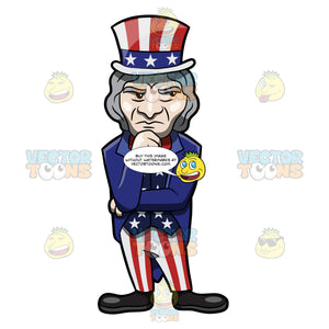 A Wondering And Questioning Uncle Sam