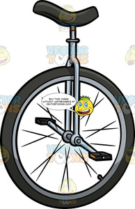 A Large Wheel Unicycle