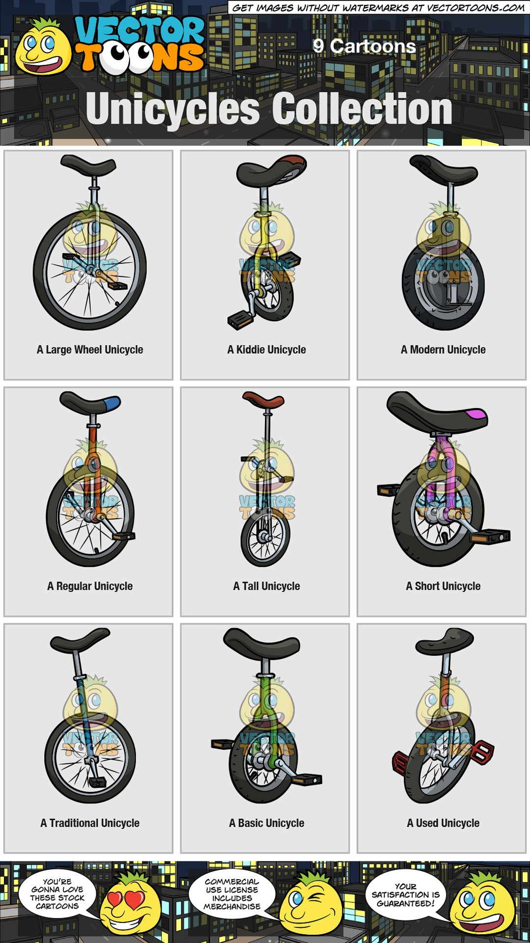 Unicycles Collection