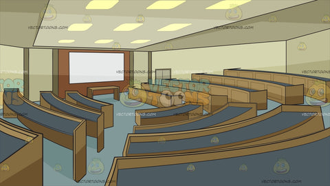 University Lecture Room Background