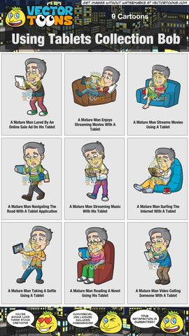 Using Tablets Collection Bob