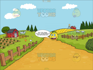 Country Farm Background