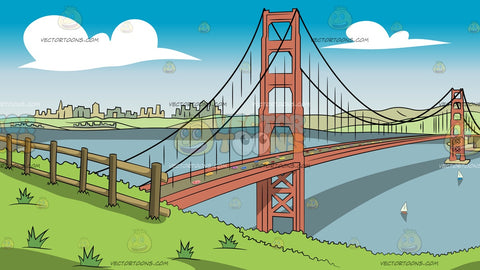 View Of The Golden Gate Bridge Background