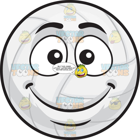 A Smiling Volleyball