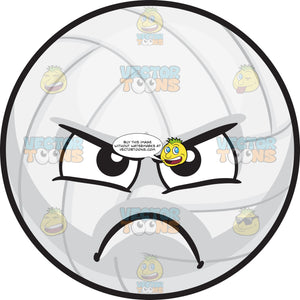 An Angry Volleyball