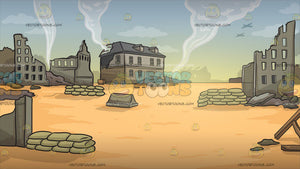 War Zone Background