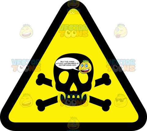 Poison Warning Sign