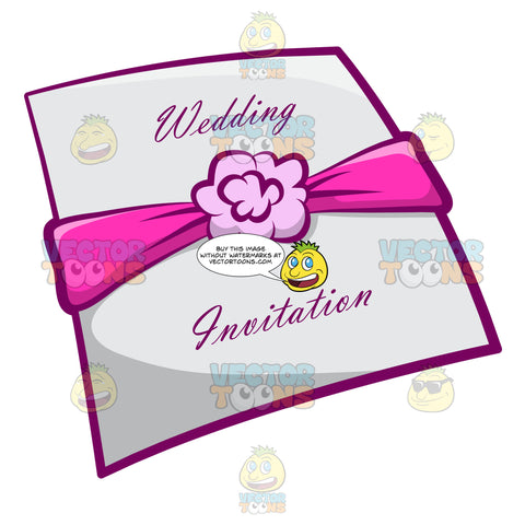 A Cute Wedding Invitation