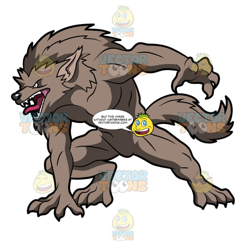 A Strong And Lean Werewolf