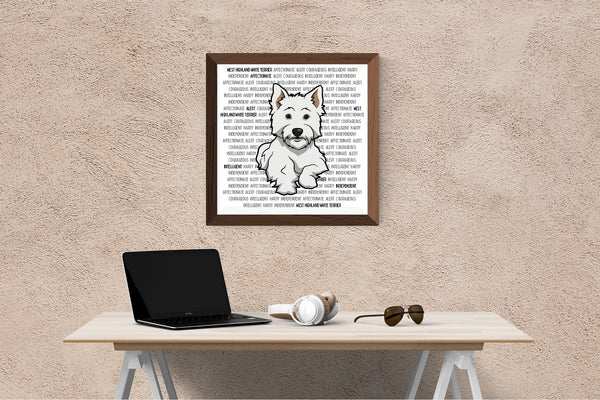 West Highland White Terrier Dog Printing / Embroidery Designs