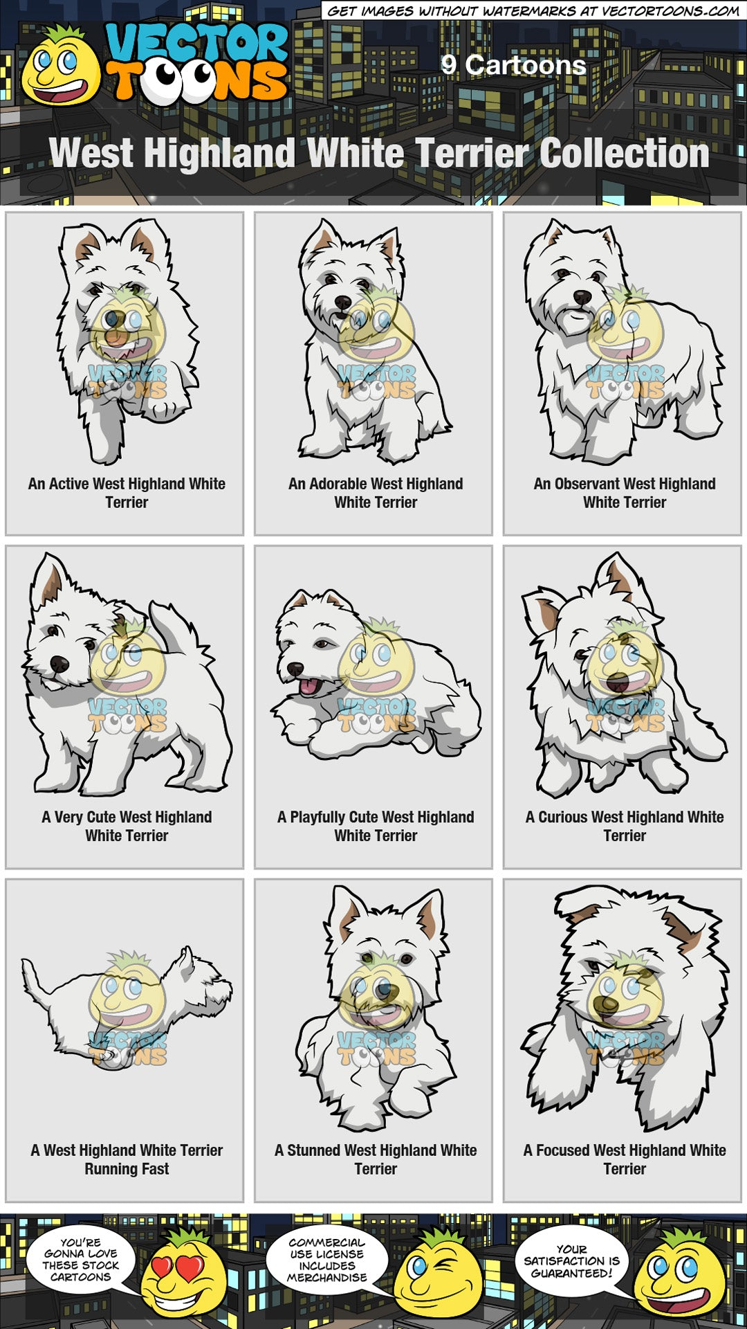 West Highland White Terrier Collection