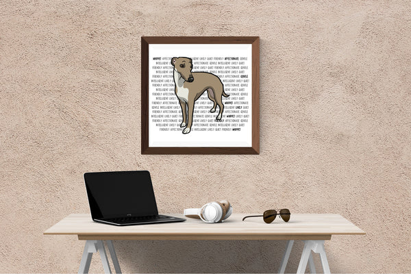 Whippet Dog Printing / Embroidery Designs
