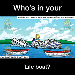 Who's In Your Life Boat Meme