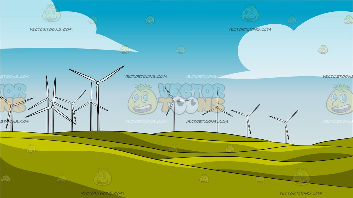 Wind Farm Background
