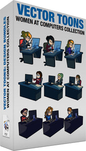Women At Computers Collection