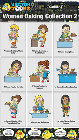 Women Baking Collection 2