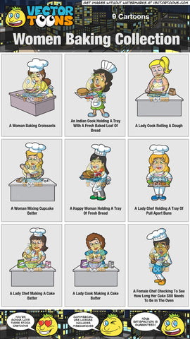 Women Baking Collection