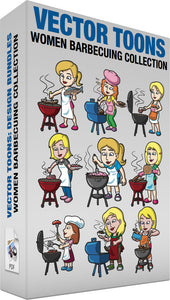 Women Barbecuing Collection