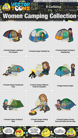 Women Camping Collection