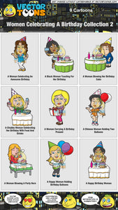 Women Celebrating A Birthday Collection 2