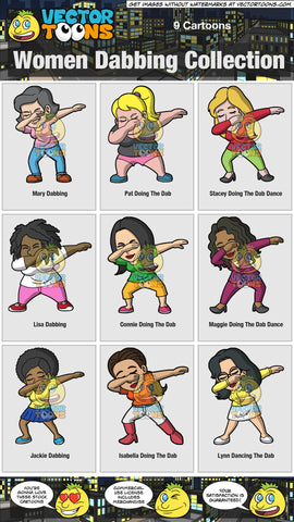 Women Dabbing Collection