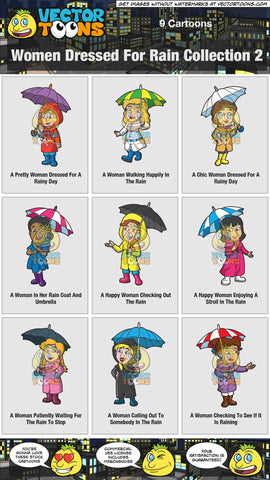 Women Dressed For Rain Collection 2