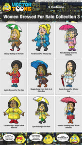 Women Dressed For Rain Collection 3