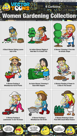 Women Gardening Collection