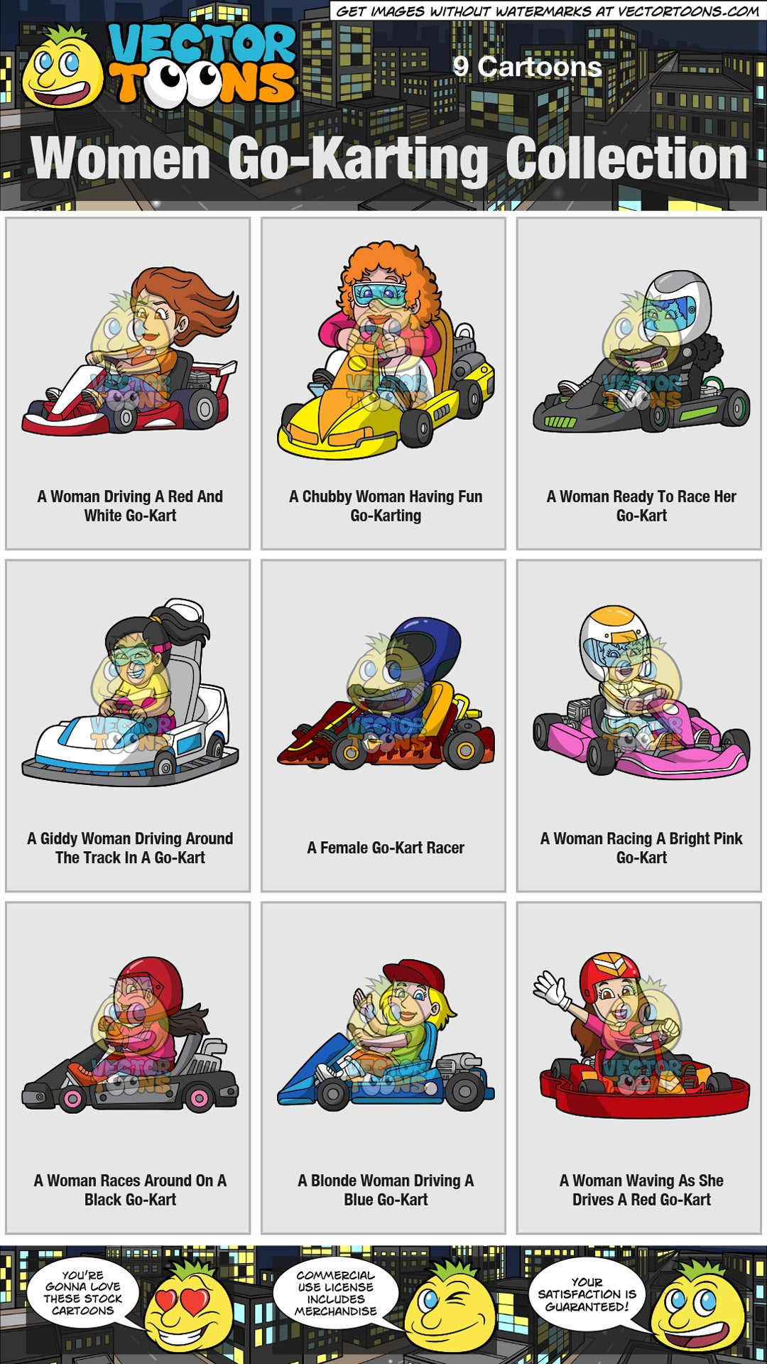 Women Go-Karting Collection