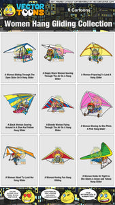 Women Hang Gliding Collection