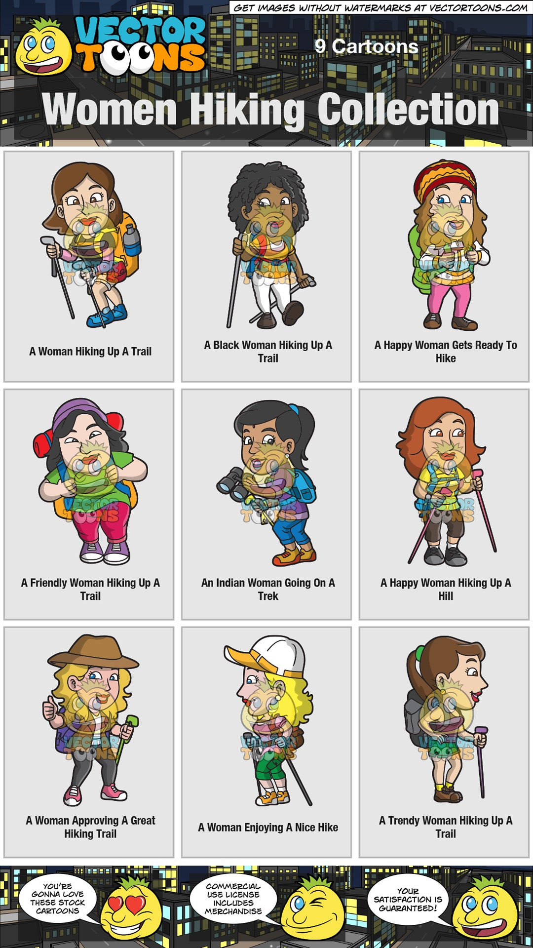 Women Hiking Collection
