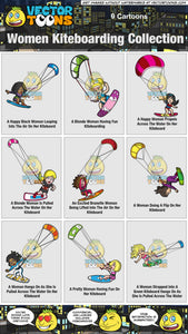 Women Kiteboarding Collection