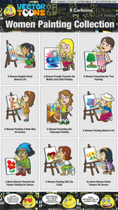 Women Painting Collection