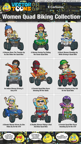 Women Quad Biking Collection